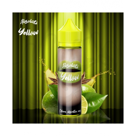 Absolute Yellow 50ml - 50PG/50VG - Airmust