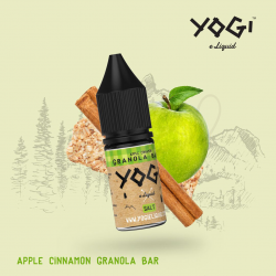 Apple Cinnamon granola bar 10ml/ sel de nicotine - Yogi Juice