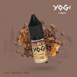 Java granola bar 10ml/ Sel de nicotine - Yogi Juice
