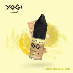 Lemon granola bar 10ml/ Sel de nicotine - Yogi Juice