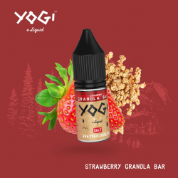 Strawberry granola bar 10ml/ Sel de Nicotine - Yogi Juice