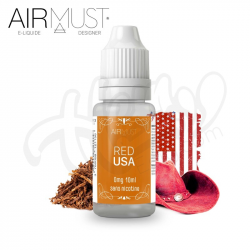 E-liquides Red USA 10ML - Airmust