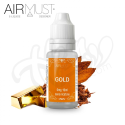 E-liquides Gold 10ML - Airmust