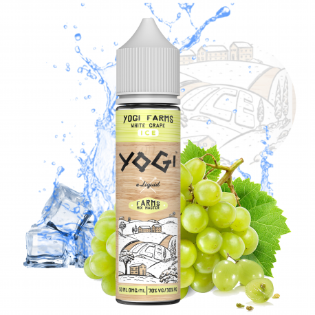 FARMS / White Grape ICE / 50ml / 00mg / 70/30 - Yogi