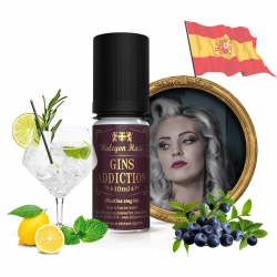 Gins Addiction 10ml - TPD SPAIN - Halcyon Haze