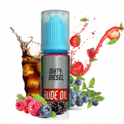 Arôme concentré Dirty Diesel - 10ml - Rude oil