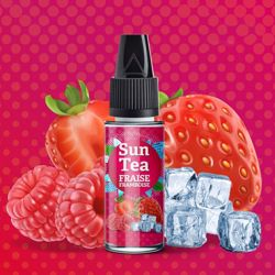 Concentre Fraise Framboise 10 ml - SUN TEA