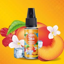 Concentre Peche Hibiscus 10 ml - SUN TEA