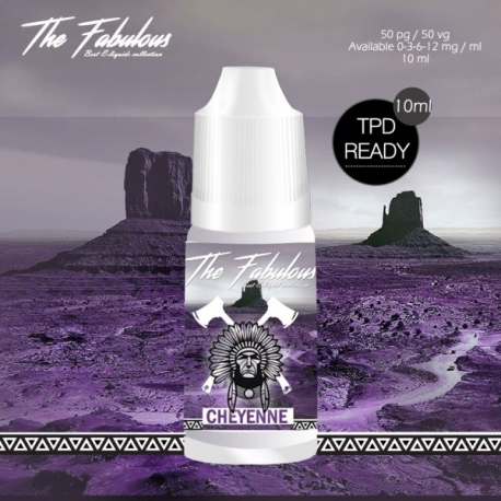 Pack de 5 E-liquides Cheyenne 10 ML 00 mg - The Fabulous