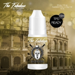 Pack de 5 E-liquides Gladiator 10 ML - The Fabulous