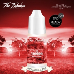 pack de 5 E-liquides Voodoo Fraise 10 ML - The Fabulous
