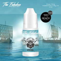 Pack de 5 E-liquides Viking 10 ML - The Fabulous