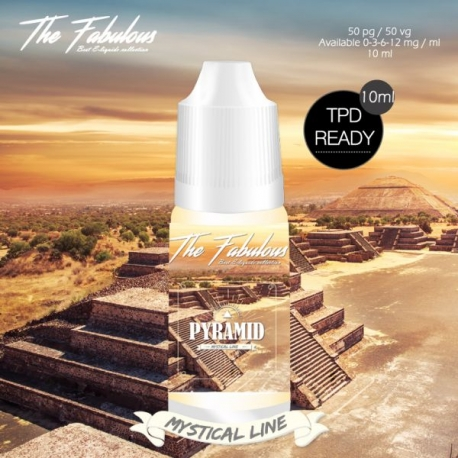 Pack de 5 E-liquides Pyramid 10 ML - The Fabulous