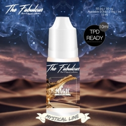 Pack de 5 E-liquides Magic 10 ML 00 mg - The Fabulous