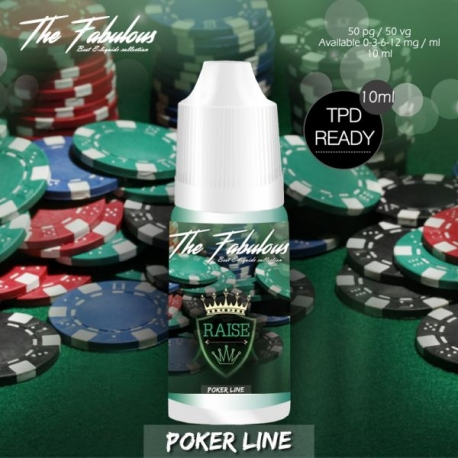 Pack de 5 E-liquides Raise 10 ML - The Fabulous