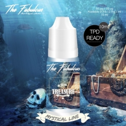 Pack de 5 E-liquides Treasure 10 ML - The Fabulous