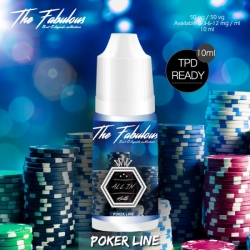 pack de 5 E-liquides All In 10 ML 00 mg - The Fabulous