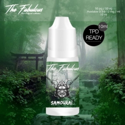 Pack de 5 E-liquides Samourai 10 ML - The Fabulous
