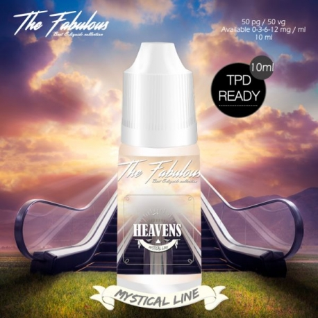 pack de 5 E-liquides Heavens 10 ML - The Fabulous