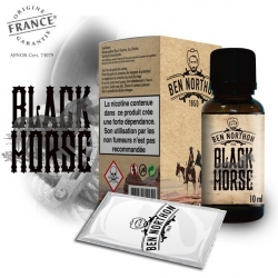 Pack de 10 E Liquides BLACK HORSE 10 ml - Ben Northon