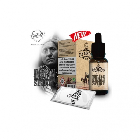 Pack de 10 E Liquides INDIAN SPIRIT 10 ml - Ben Northon
