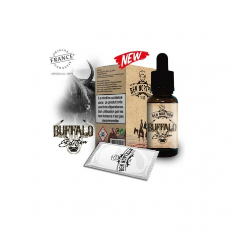 Pack de 10 E Liquides BUFFALO EDITION 10 ml - Ben Northon