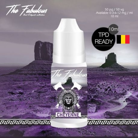 Pack de 5 Cheyenne TPD BELGE - The Fabulous