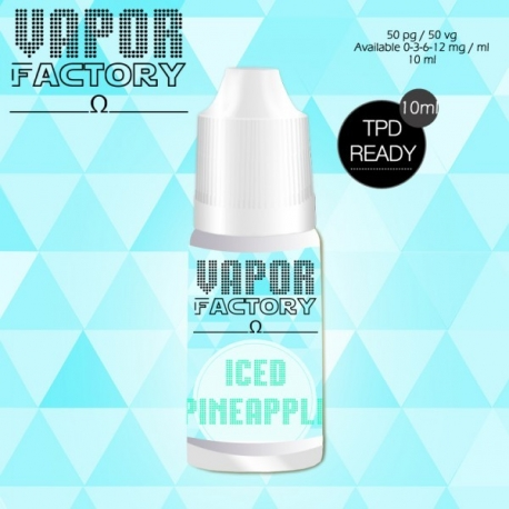 Iced Pineapple 30ml 0mg/ml - Vapor Factory
