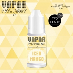 Iced Mango 30ml 0mg/ml - Vapor Factory