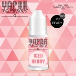 Iced Berry 30ml 0mg/ml - Vapor Factory