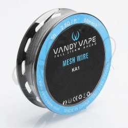 Mesh Wire SS316L 300mesh 5ft 0.37ohm - VandyVape